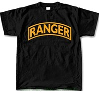 T Shirt Casual Short Sleeve For Men Clothing Summer United States Army Ranger Mens Ss T