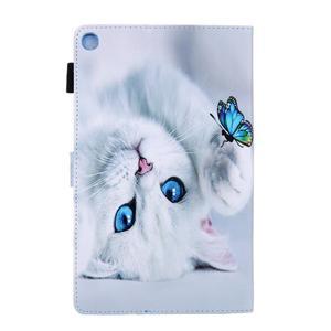 Image 2 - Coque souple antichoc pour tablette, support de chat peint, coque + Film + stylo, pour Samsung Galaxy Tab A 10.1 2019 SM T510 T510 T515 SM T515