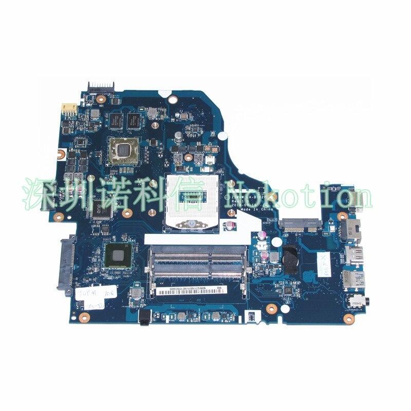 Z5WAW LA-B702P Laptop Motherboard For Acer Aspire E5-572G Main Board DDR3L S947 HM86 Nvidia GeForce 940M NBMV211001 works