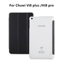 Original 8 PU Leather Case Protector Case 3 Foldable Stand Smart Cover For CHUWI Hi8 Pro