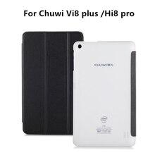 Alta Calidad Original de LA PU de Cuero Protector de la Cubierta del Caso de 8 Pulgadas para Chuwi Vi8 Plus Hi8 Pro Tableta de CHUWI Caso de Shell + Stylus Pen