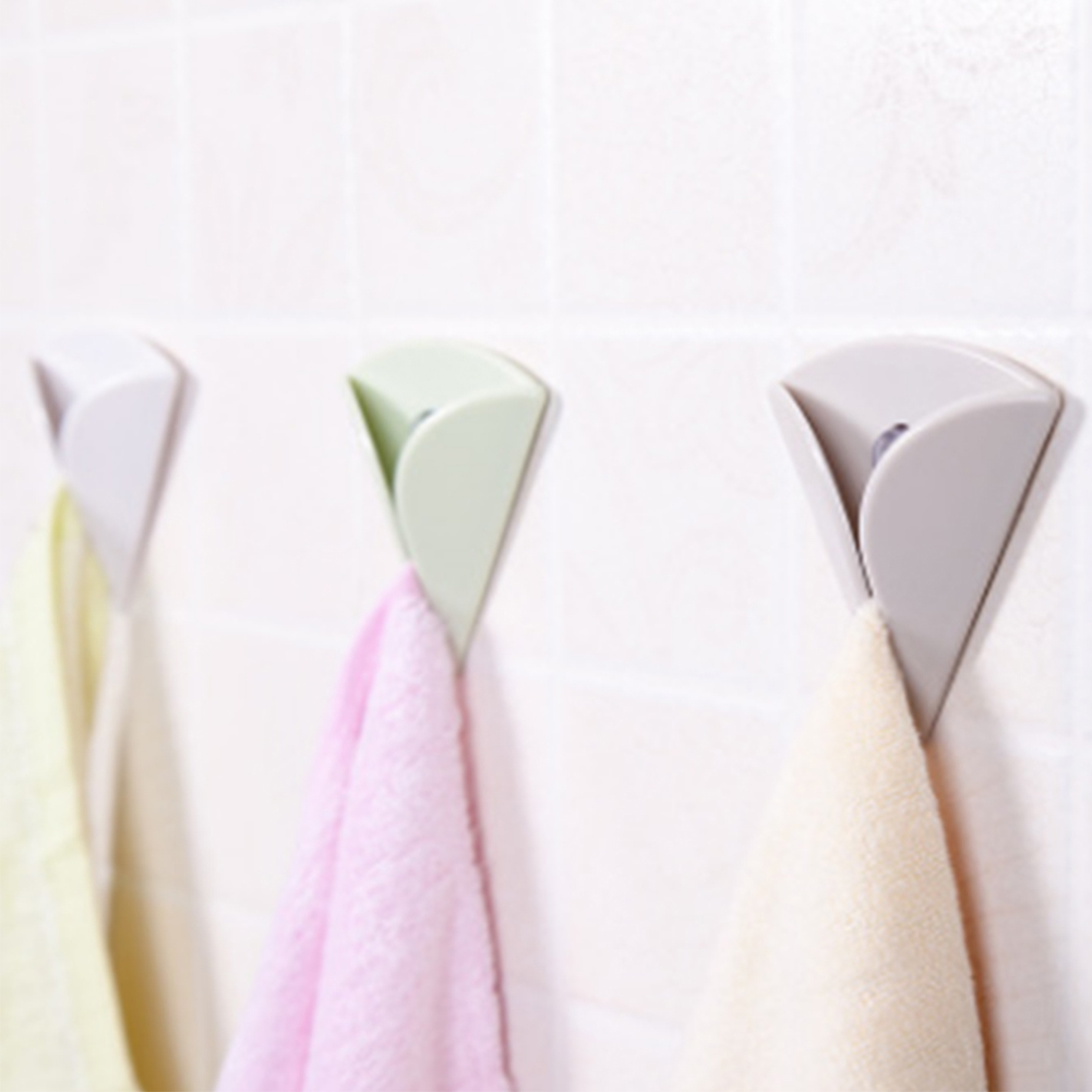1pcs Multi Function Towel Sunction Rack Kitchen Dishcloth Clips Hooks Holder