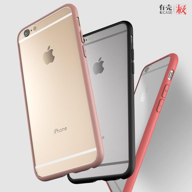 funda de silicona transparente para iphone6 para iphone6s (4.7) - Accesorios y repuestos para celulares - foto 4