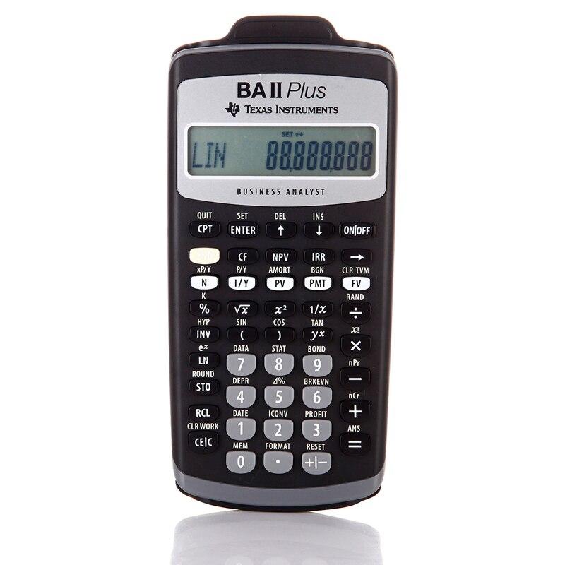Ti BA II Plus 12 Cifre di Plastica Led Calculatrice Calculadora Calcoli Finanziari Studenti Calcolatrice Finanziaria-in Calcolatrici da Computer e ufficio su SunshineDigital Store