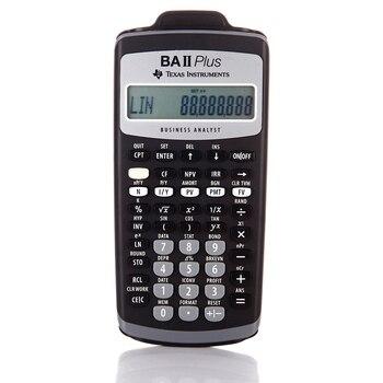Ti BA II Plus 12 Cifre di Plastica Led Calculatrice Calculadora Calcoli Finanziari Studenti Calcolatrice Finanziaria