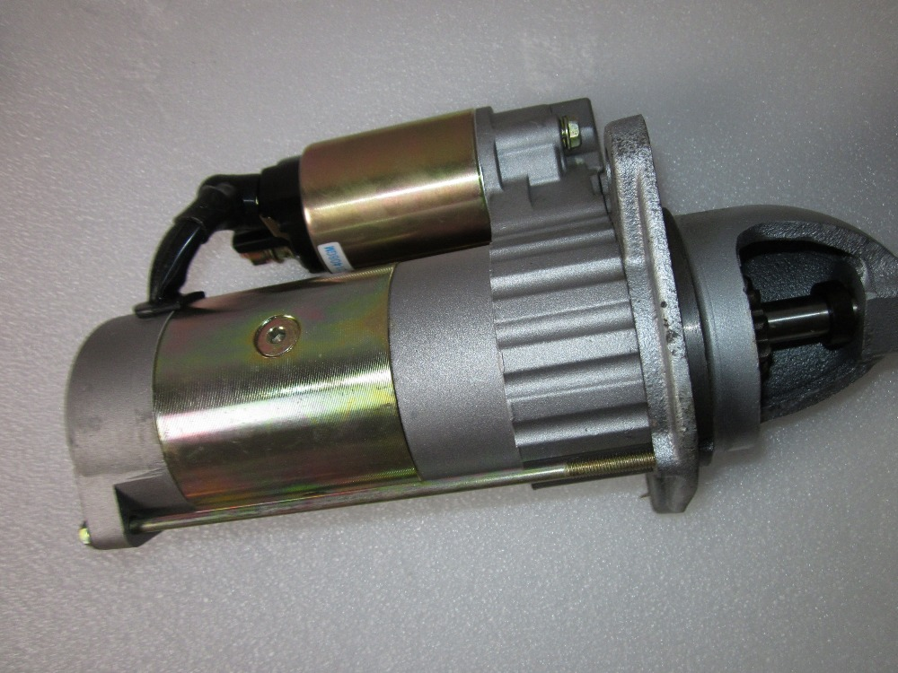 China YITUO tractor parts, the starter motor for YTO engine LR4M5-T80-u2 china yituo engine with high pressure fuel pump bh3w9540 the set of nozzles plungers and delivery valves for one engine use