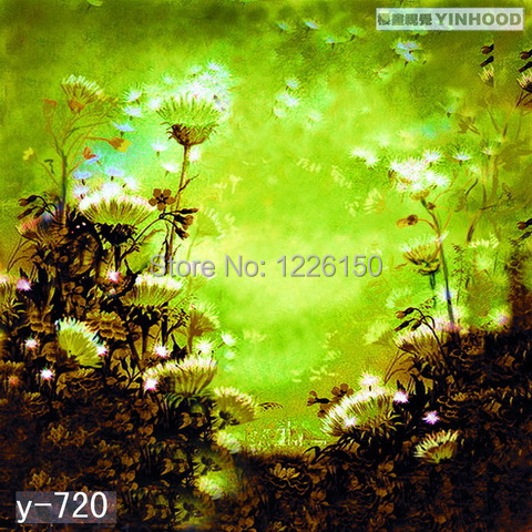 Fantasy Faryland Studio Background Y720,10x20ft Hand Painted Photo backdrop,backgrounds for photo studio