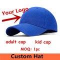Индивидуальные Взрослых бейсболки Вышивка ЛОГОТИПА snapback cap Пользовательские малыш шапки оптом оборудованная шляпы