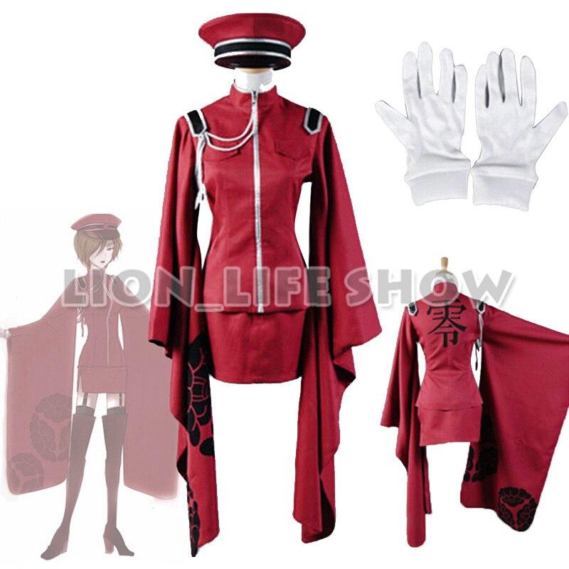 Vocaloid Hatsune Miku Senbon Sakura Kimono Meiko Cosplay Costume with Hat Gloves
