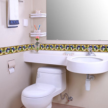 XT07 Wallpaper 3D Border Walls Roll Stereo Wall Stickers Living Room Waterproof papers