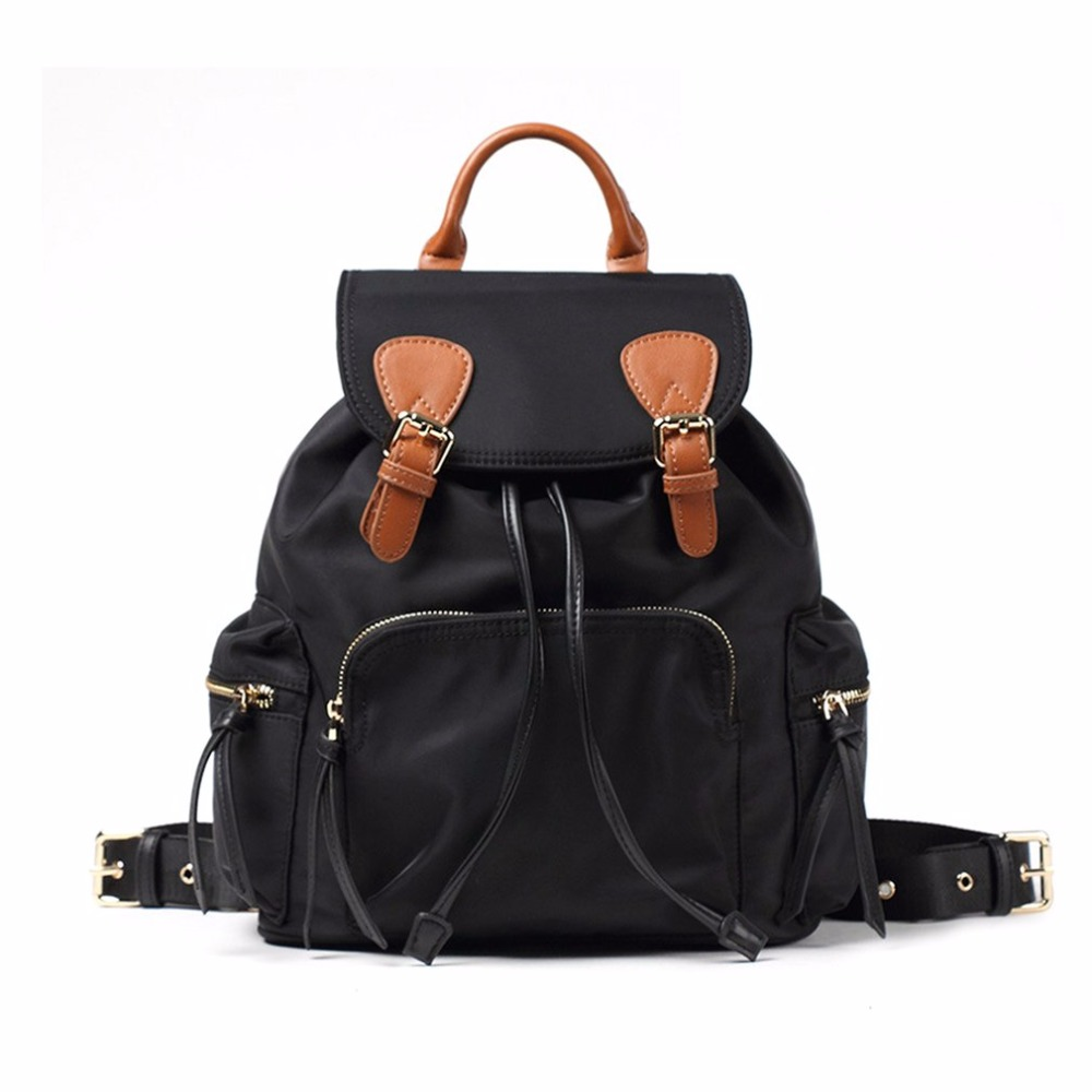 Women Bag Casual Double Shoulder Bag Large Capacity Backpack Premium Travel Nylon Shoulder Bag Escolar Feminina nylon double shoulder bag backpack