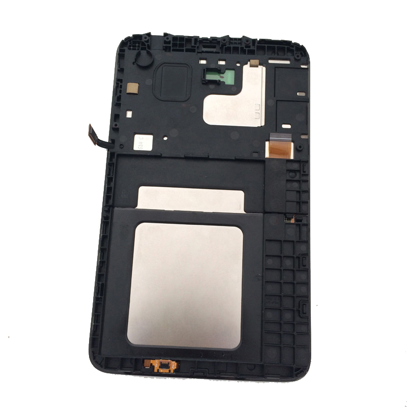 For Samsung Galaxy Tab 3 Lite 7.0 inch SM-T116 T116 Touch Screen Digitizer Sensor + LCD Display Panel Monitor Assembly + Frame tissot t116 617 16 057 00