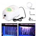 YL-3200 Портативный Ультра тихий AC/DC аквариумный воздушный насос AC 220V аквариумный кислородный насос 20W мини воздушный компрессор с 10m воздушной...