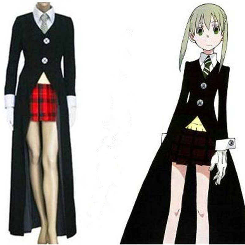 Hot Anime SOUL EATER Cosplay Costumes Maka Albarn Uniforms Women Fancy Party Dress Set Anime Clothing For Halloween Carnival