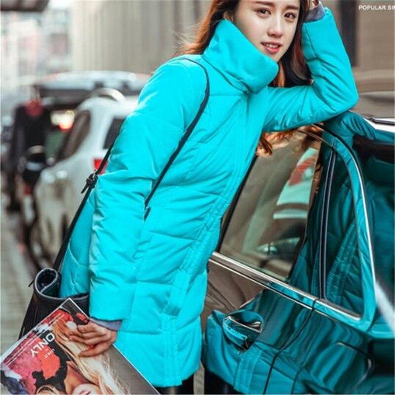 большие размеры конфеты цвет тонкий хлопок пальто женщин парка Размер 6xl осень зимняя куртка для женщин с капюшоном хлопок-стеганая куртка tt1685c