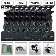 Surveillance 32CH CCTV H.264 Actual-time 960H 1080P EFFIO Standalone DVR System