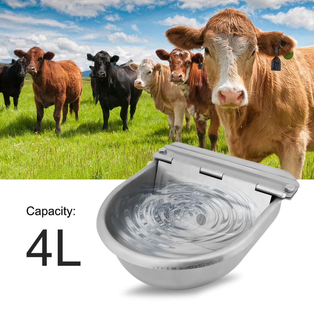 Stainless Steel Water Trough Bowl Automatic Drinking for Horses Goats Sheep Cattle-in Dog Feeding from Home & Garden on AliExpress - 11.11_Double 11_Singles' Day 1