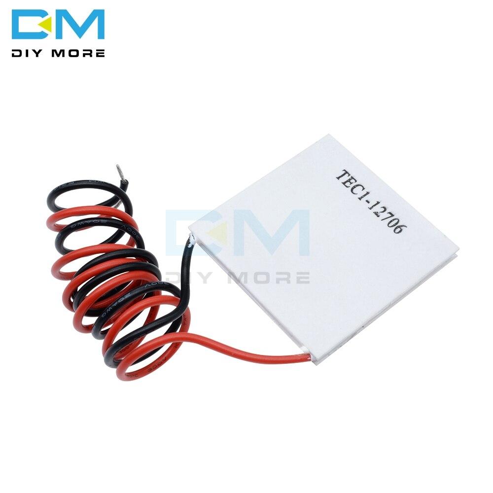 TEC1-12703 12704 12705 12706 12708 12709 12710 12712 12715 Thermoelectric Cooler Peltier 12V 5A Cells Peltier Elemente Module