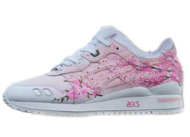 Original ASICS Gel-Lyte III Sakura by Rudnes Reissue Men's and women Fencing Shoes sports Sneakers size 36-44