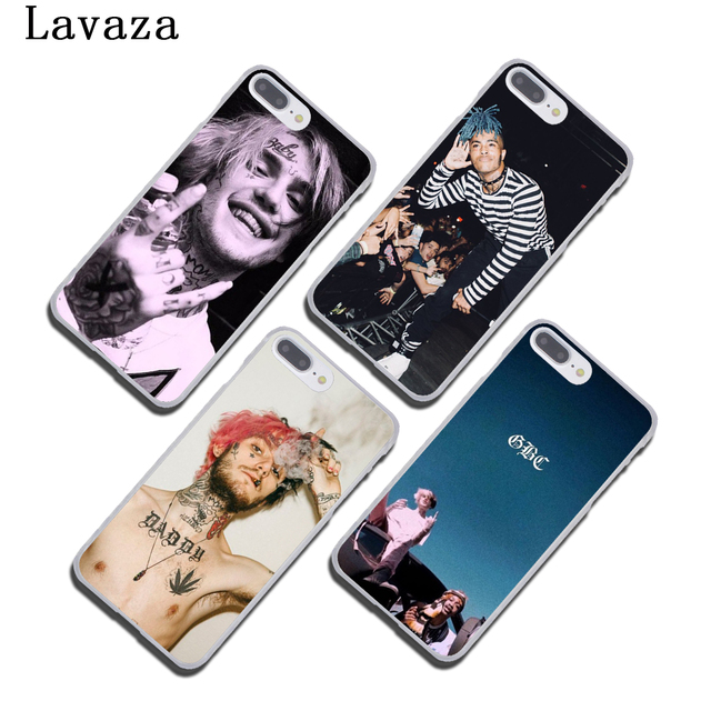 Lavaza XxxTentacion Lil Peep Lil Bo Peep Hard Cover Case for Apple iPhone X XS Max XR 6 6S 7 8 Plus 5 5S SE 5C 4S 10 Phone Cases