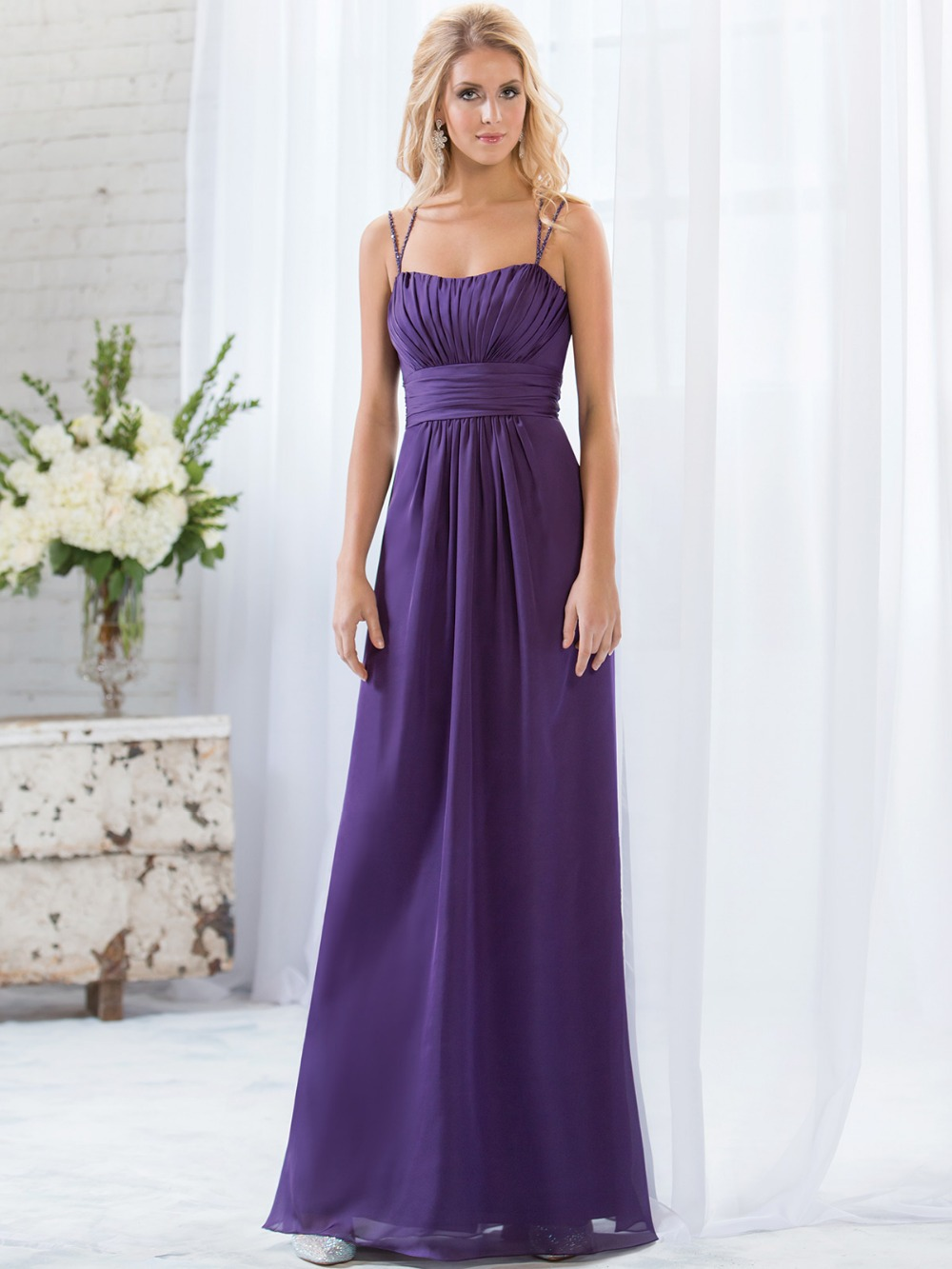 Purple plus size bridesmaid dresses vosoi compare prices on purple girls bridesmaids dress online shopping ombrellifo Gallery