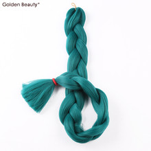 41inch Crochet Hair Extensions Synthetic Crochet Braids One Tone Color Jumbo Braiding Hair Extensions