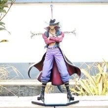 Dracule Juracule Mihawk DX Hawk Eye Shichibukai Action Figure 28 cm