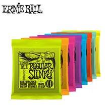 Ernie Ball Super Slinky – cordes de guitare électrique d'origine 009 010, 6 cordes à enrouler en Nickel, accessoires