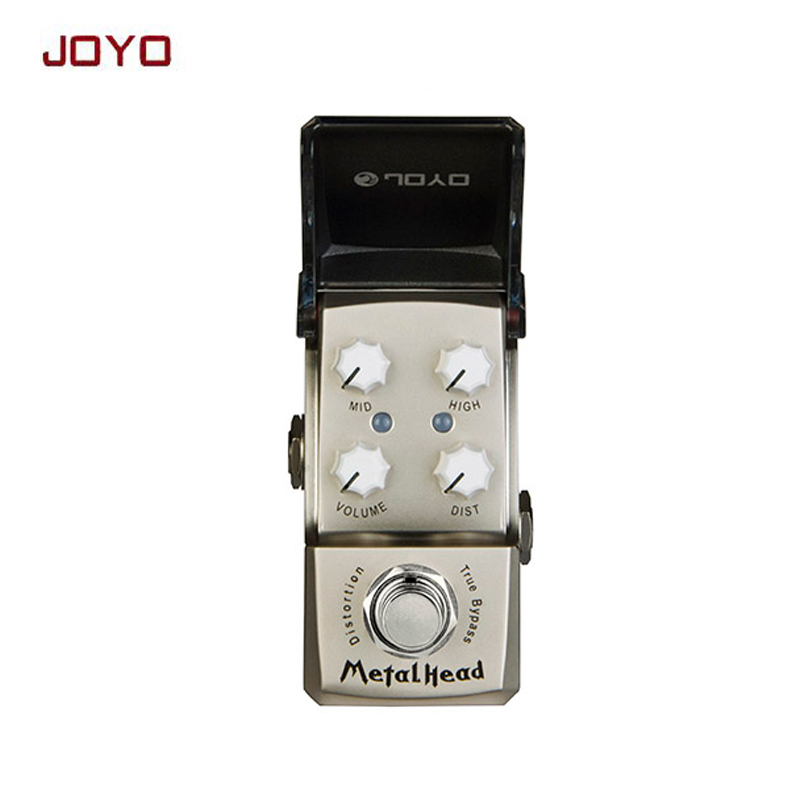 JOYO JF-315 MetalHead Distortion Mini Smart guitar Effect Pedal suit for heavy rock extreme metal ture bypass free shipping joyo crunch distortion electric guitar effect pedal true bypass classic british rock tone jf 03 with free connector