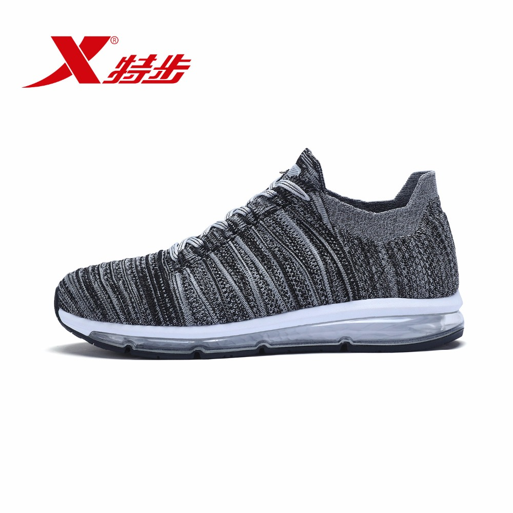 """983319119279 """"XTEP"""" karšto lauko kvėpuojantis oras """"Vieni batai"""" vyriški bėgimo sportiniai batai"""