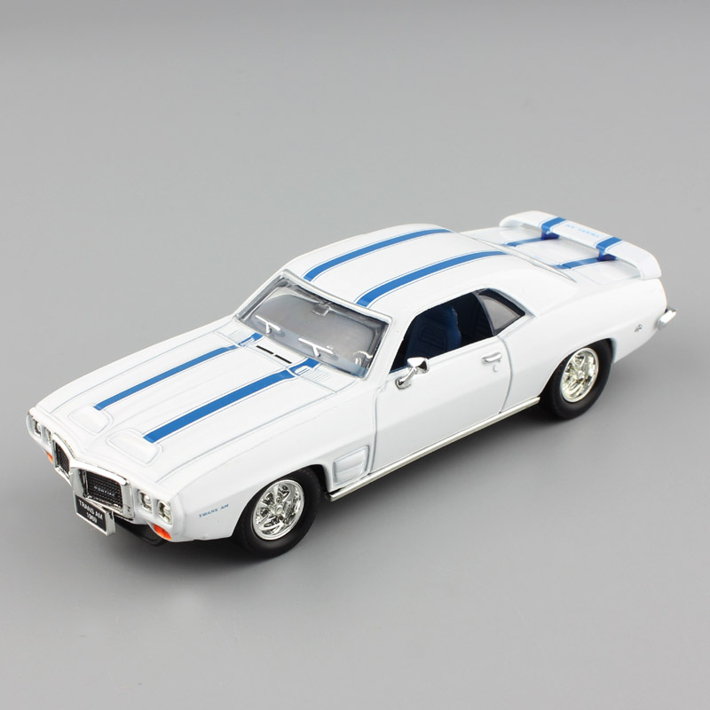 1:43 Scale Pontiac 1969 Firebird trans AM vintage metal old car ...