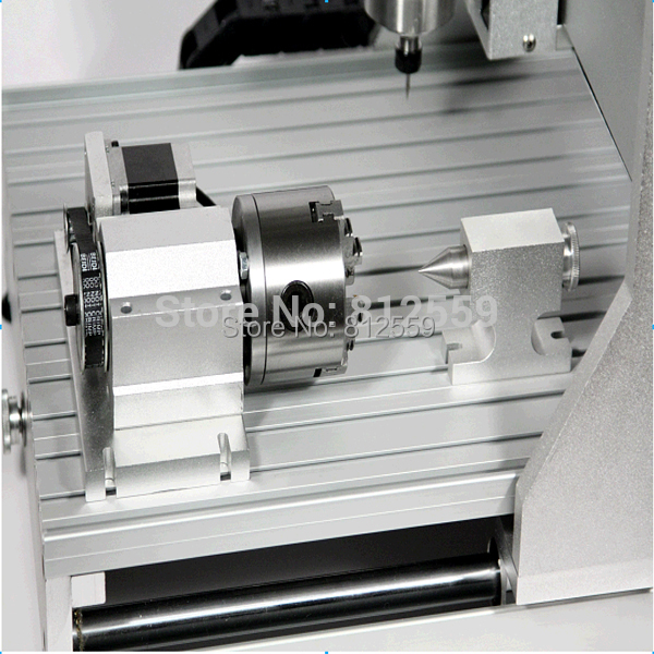 3040 mini alumínium cnc gravírozó gépek - Famegmunkáló berendezések - Fénykép 1