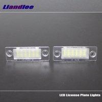 For Skoda Superb 2002 2008 LED Car License Plate Lights Number Frame Light High Quality LED