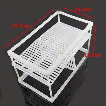 2 Size Plastic Aquarium Fish Breeding Net Box Hanging Betta Fish Incubator Hatchery Isolation Box Aquarium Accessories 1