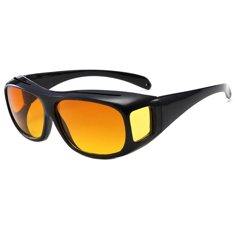Night Driving Glasses Anti Glare Glasses For Safety Driving Sunglasses Night Vision Goggles Yellow Lens Safety Glasses Lunettes