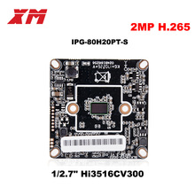 2017  New Arrival Megapixel 2.0 Megapixel H.265 IP Camera Module Board 1080P CCTV Camera IP Chip Board Mobile Phone View