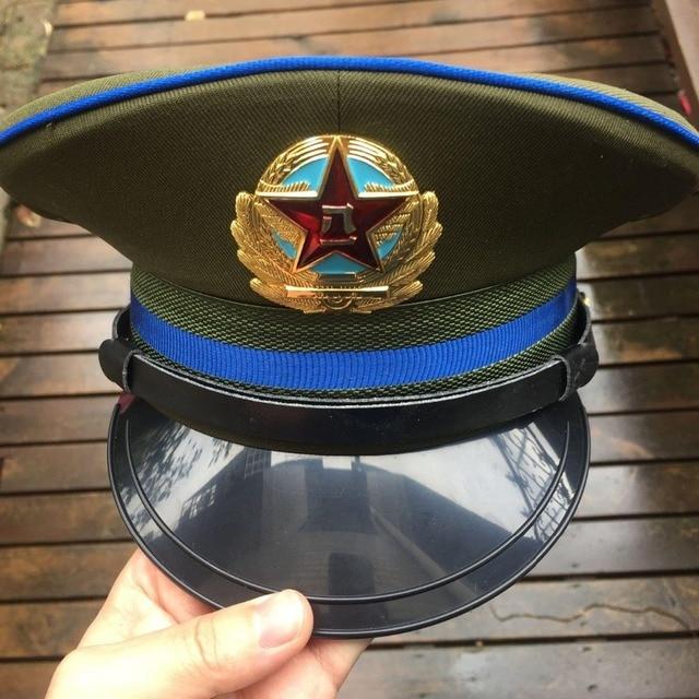 China PLA Air Force M04 Pilot Visor Cap USSR SOVIET UNION RUSSIA MEDAL  MILITARY 5c69664b8994