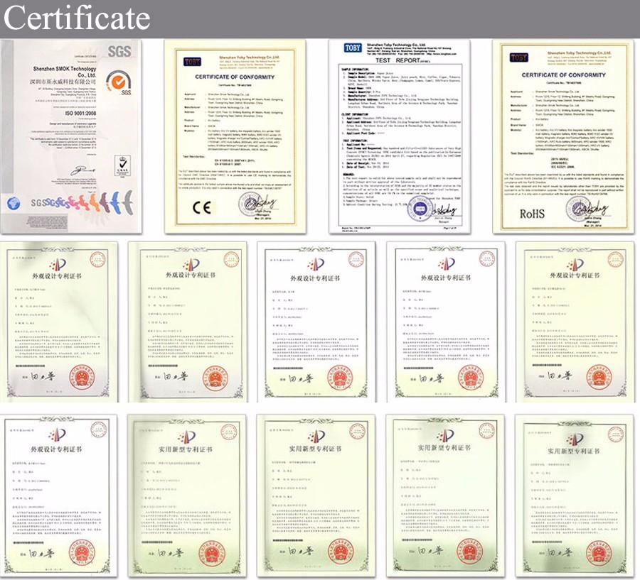 certificate 900