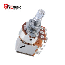 2Pcs Guitar Control Pot B500K Push Pull Potentiometer Guitar part Chrome