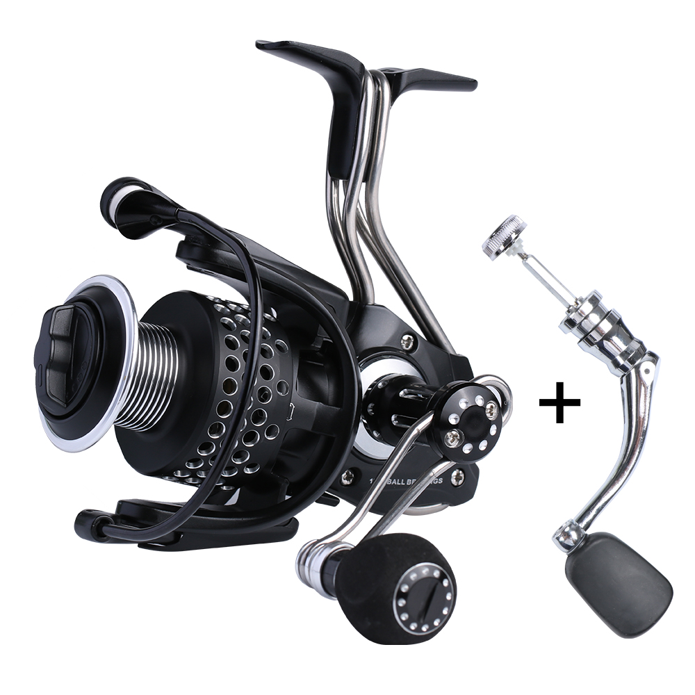 Spinning Reel Fishing Reel Iron Man 3000 4000 Series All Metal Materials Salt Water 12+1 BB Fishing Wheel катушка для удочки pisces spinning reel factorysy400010 1bb white5 0 11bb reelkb 3000 baitcaster spinning fishing reel 4000