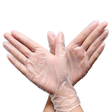 100Pcs/Lot Clear PVC Gloves Household Cleaning Tools & Accessories Wholesale Bulk Lots Supplies Gear Items Stuff Products