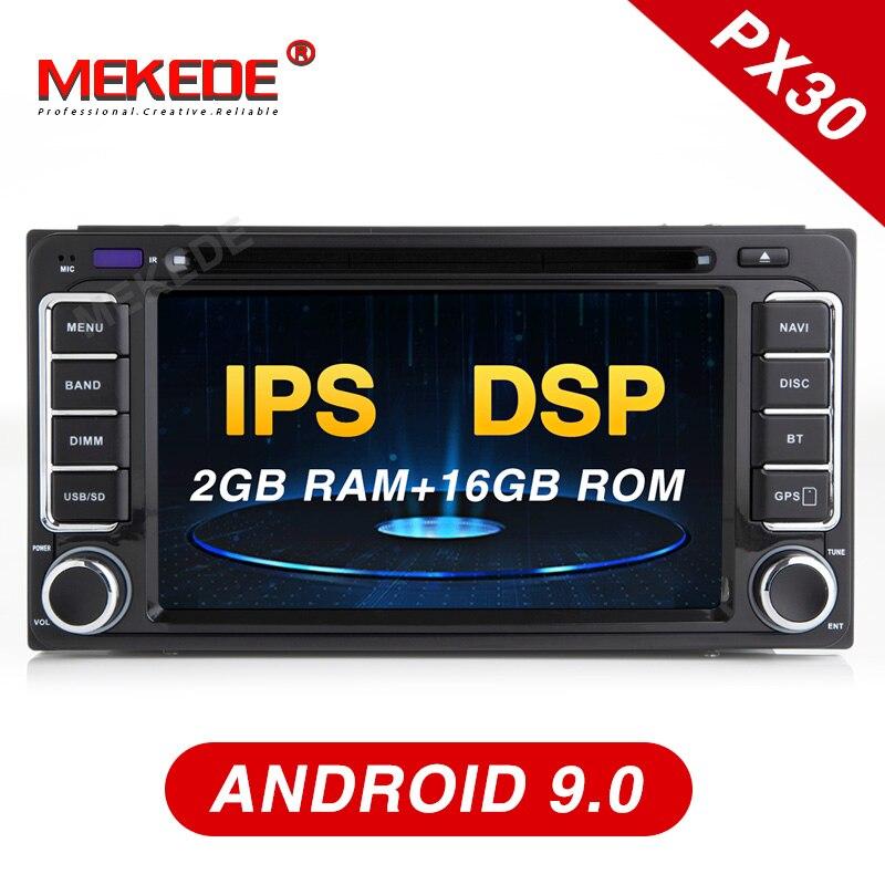 Mekede Android 9 0 Car DVD Player radio GPS Navi for Toyota Camry Viso Vitz Corolla