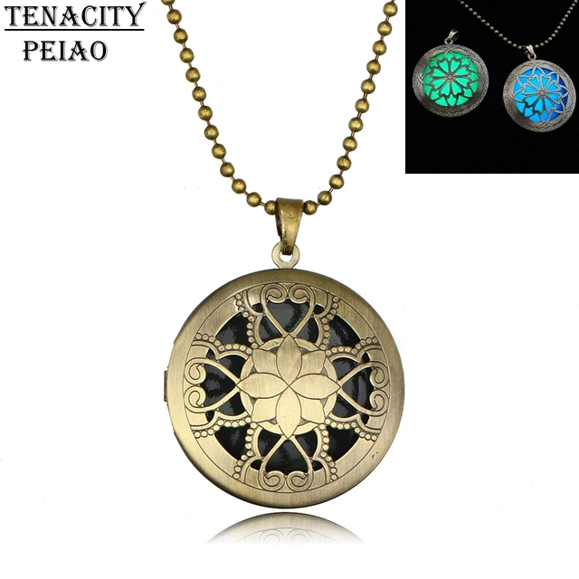 Necklace aqua large locket women jewelry necklaces pendants necklace aqua large locket women jewelry necklaces pendants steampunk necklace magical fire fairy glow in aloadofball Choice Image