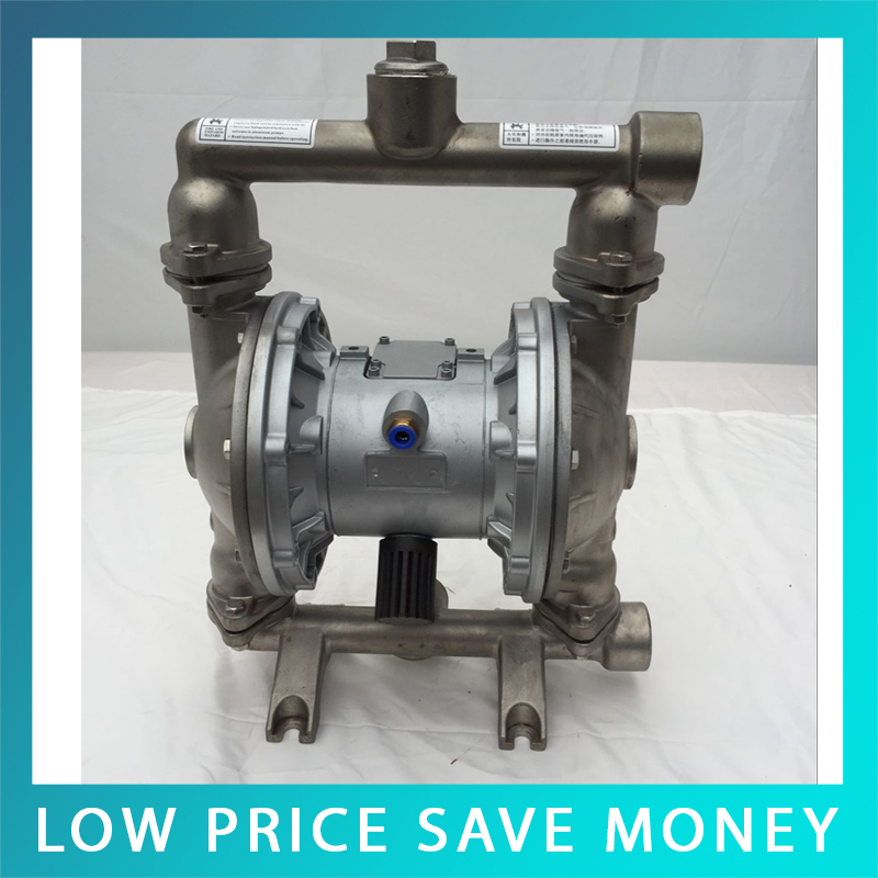 QBY-25 Stainless Steel /Aluminum Alloy Pneumatic Diaphragm Pump 100l/min