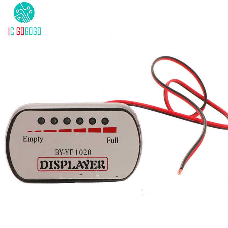 24V 36V 48V 60V 72V Voltmeter Power Display Battery Capacity Indicator Meter Tester Electrical Motorcycle Electric Car Bike