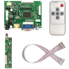 LCD TTL LVDS Controller Board  VGA 2AV 50PIN for AT070TN90 92 94 Support Automatically VS TY2662 V1 Driver Board