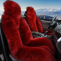 Wool cushion Car Styling Car Seat Cover for Nissan Altima Rouge X trail Murano Sentra Sylphy Versa Sunny Tiida High fiber Car pa