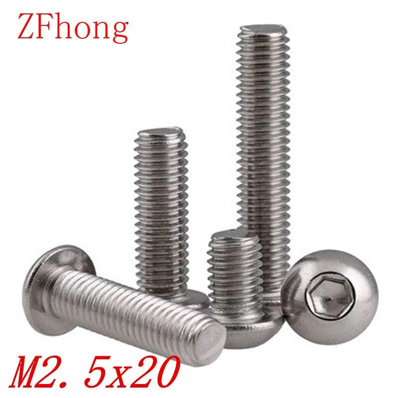 diff/érents filetages m/étriques lot de 16 M3 Vis coniques mixtes M4 Vis /à t/ête hexagonale en acier inoxydable de qualit/é A2 M5 et M6 5 mm de longueur