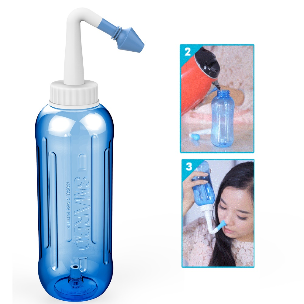 500ml Nasal Irrigator For Nose Wash Cleaner For Adult and Children Baby No Power Needed mobile telephony dangerous for both adult and children