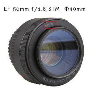Image 5 - Camera Lens UV Protection Filter 49mm for Canon EF 50mm f/1.8 STM & for Sony E mount 18 55mm f/3.5 5.6 OSS Lens